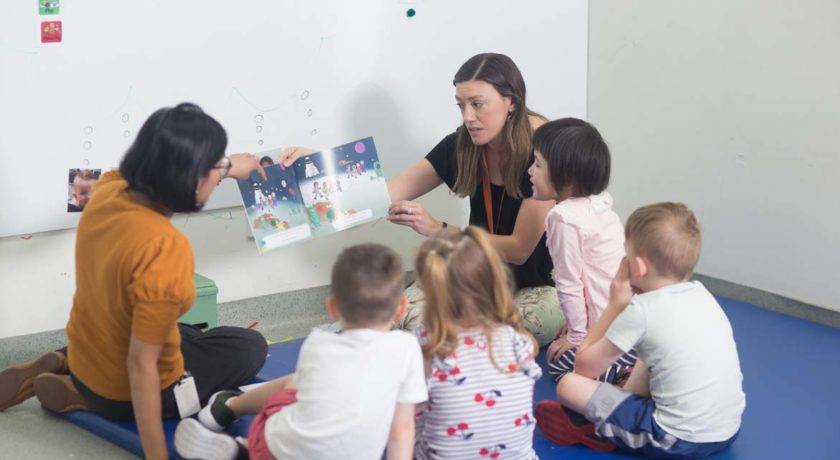 Speech Pathology children's group session