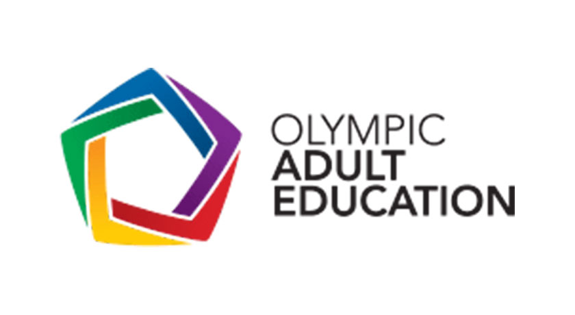 Olympic Adult Education logo