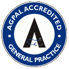AGPAL Accredited general practice logo