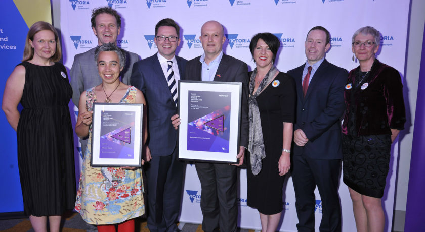 Premier's Primary Health Service of the Year 2019 award